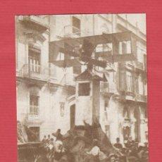Postales: POSTAL SERIE FALLAS 1901-1910-PLAZA MARIANO BENLLIURE-1º PREMIO AYUNTAMIENTO-ED.1987-JOSÉ HUGUET. Lote 49425945