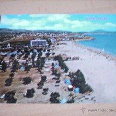 Postales: CALPE ( ALICANTE ) PLAYA DE LA FOSA. Lote 49530729