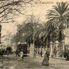 Postales: VALENCIA Nº 12 ENTRADA DE LA GLORIETA FOTOTIPIA CASTAÑEIRA SIN CIRCULAR . Lote 49616264