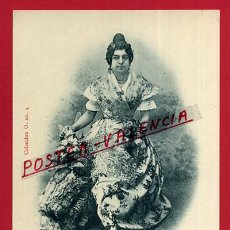 Postales: POSTAL VALENCIA, RECUERDO DE VALENCIA, CAMPESINA, P99404. Lote 49876270