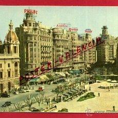 Postales: POSTAL VALENCIA, PLAZA DEL CAUDILLO, P99426. Lote 49876751