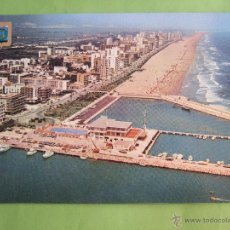 Postales: POSTAL VALENCIA - GANDIA - VISTA AEREA DE LA PLAYA - 1976 - SIN CIRCULAR - SUBIRATS CASANOVA 156. Lote 50199975