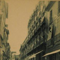 Postales: GANDIA - CALLE MAYOR - FOTOGRAFICA SIN CIRCULAR Y DORSO DIVIDIDO. Lote 50217011