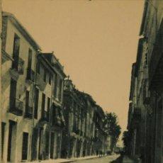 Postales: GANDIA - CALLE SAN FRANCISCO DE BORJA - FOTOGRAFICA SIN CIRCULAR Y DORSO DIVIDIDO. Lote 50217031