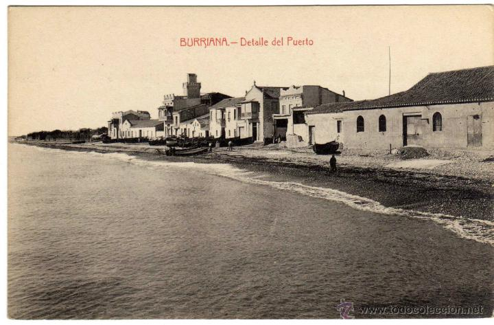 Bonita postal burriana castellon detalle comprar - Puerto burriana ...