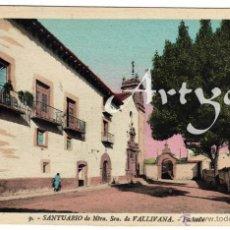 Postales: PRECIOSA POSTAL - MORELLA (CASTELLON) - SANTUARIO DE NTRA. SRA. DE VALLIVANA - FACHADA . Lote 50312317