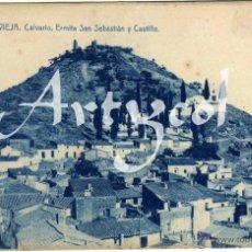 Postales: PRECIOSA POSTAL - VILLAVIEJA (CASTELLON) - CALVARIO - ERMITA SAN SEBASTIAN Y CASTILLO . Lote 50313196