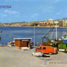 Postales: VILLAJOYOSA Nº 3 ALICANTE PUERTO EDICIONES ARRIBAS ESCRITA CIRCULADA SELLO. Lote 50325681
