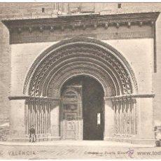 Postales: VALENCIA CATEDRAL PUERTA BIZANTINA. Lote 46811517