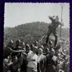 Postales: FOTOGRAFIA TAMAÑO TARJETA POSTAL DE ALCOY (ALICANTE). 1945. FOTO ESTUDIO.. Lote 50612086