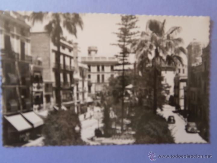 POSTAL DE CASTELLON - PLAZA LA PAZ - SIN CIRCULAR (Postales - España - Comunidad Valenciana Antigua (hasta 1939))