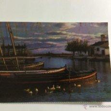 Postales: VALENCIA EL SALER EMBARCADERO. Lote 51094758