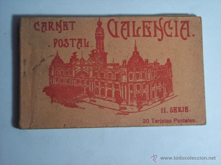CARNET POSTAL VALENCIA (LIBRITO CON 17 TARJETAS POSTALES (II SERIE) FALTAN TRES (Postales - España - Comunidad Valenciana Antigua (hasta 1939))