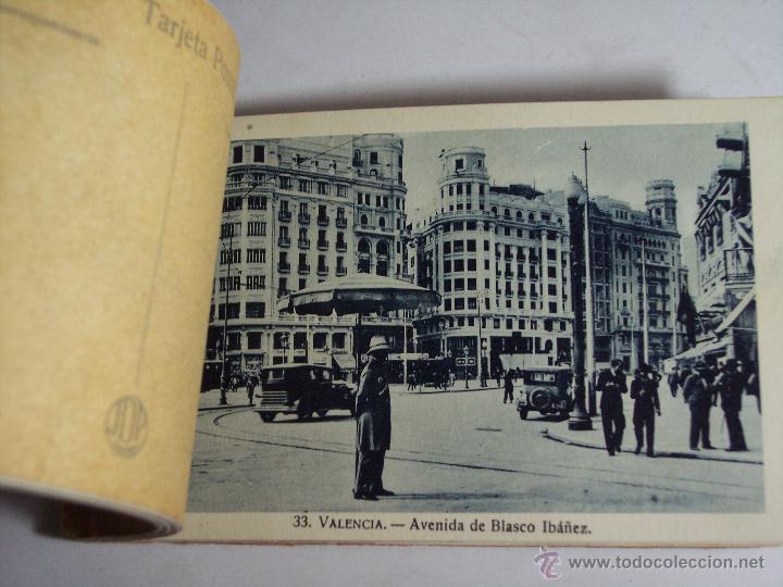 Postales: CARNET POSTAL VALENCIA (LIBRITO CON 17 TARJETAS POSTALES (II SERIE) FALTAN TRES - Foto 7 - 51156218