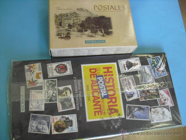 100 POSTALES DE ALICANTE, Y 100 SELLOS METÁLICOS, COLECCION COMPLETA,LEE ANUNCIO (Postales - España - Comunidad Valenciana Antigua (hasta 1939))