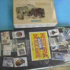 Postales: 100 POSTALES DE ALICANTE, Y 100 SELLOS METÁLICOS, COLECCION COMPLETA,LEE ANUNCIO. Lote 52150738