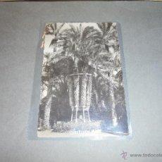 Postales: 25 - ELCHE ( ALICANTE ) HUERTO DEL CURA , PALMERA IMPERIAL DC. GARCIA GARRABELLA CIRCULADA 1960 . . Lote 51436411
