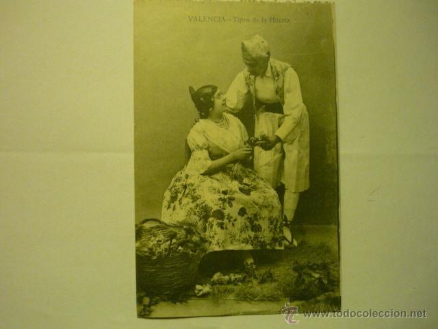 POSTAL VALENCIA TIPOS DE LA HUERTA---BB (Postales - España - Comunidad Valenciana Antigua (hasta 1939))