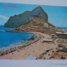 Postales: IFACH CALPE PLAYA DE LA FOSA. Lote 51614752