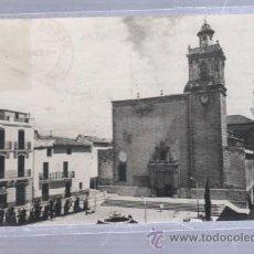 Postales: TARJETA POSTAL DE TORREBLANCA, CASTELLON - PLAZA DE LA IGLESIA. 8. EDICIONES LA COMERCIAL. Lote 51705050