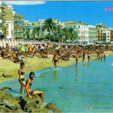 Postais: ALICANTE - BENIDORM - PLAYA DE LEVANTE - CIRCULADA. Lote 51710507