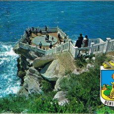 Postales: ALICANTE - BENIDORM - PLAZOLETA DEL CASTILLO - CIRCULADA. Lote 51710864