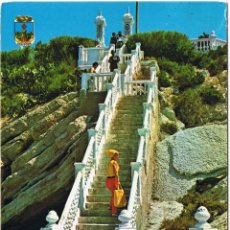 Postales: ALICANTE - BENIDORM - CASTILLO - CIRCULADA. Lote 51710970