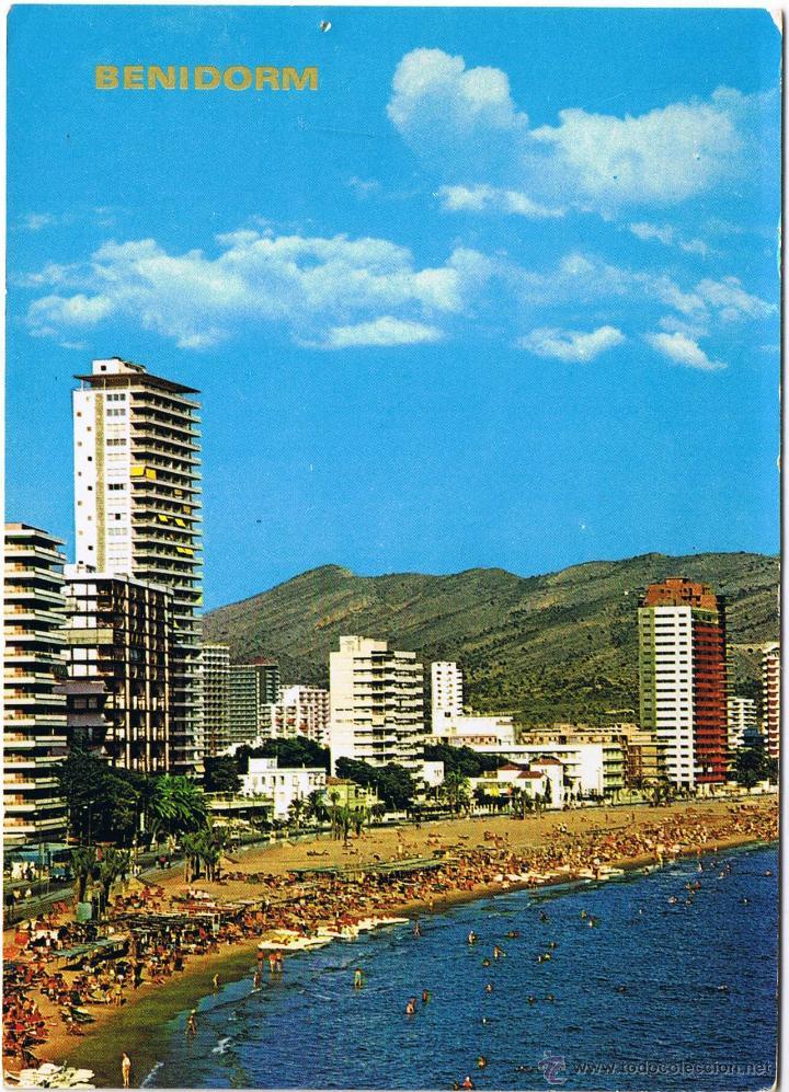 ALICANTE - BENIDORM (Postales - España - Comunidad Valenciana Moderna (desde 1940))