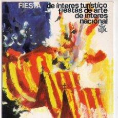 Postales: POSTAL FALLAS DE VALENCIA 1977 - VISITE VALENCIA EN FALLAS. Lote 51721810
