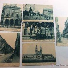 Postales: LOTE DE 6 ANTIGUAS POSTALES DE GANDÍA. Lote 52137743