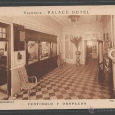 Cartes Postales: VALENCIA - PALACE HOTEL - VESTÍBULO Y DESPACHO - P12190. Lote 52165280
