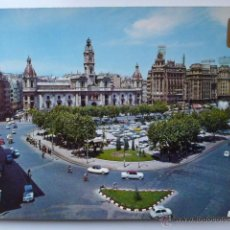 Postales: VALENCIA. PLAZA DEL CAUDILLO. A. SUBIRATS CASANOVAS. Lote 52538349