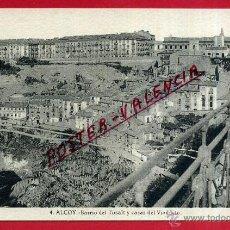 Cartes Postales: POSTAL ALCOY, ALICANTE, BARRIO DEL TOSALT Y CASAS DEL VIADUCTO, P82079. Lote 52690248