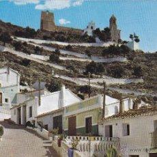 Postales: CULLERA Nº 224 CALLE TIPICA AL FONDO EL CASILLO SIN CIRCULAR FOTO SUBIRATS CASANOVAS. Lote 52767180