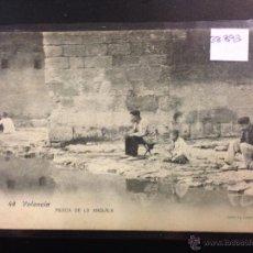 Postales: VALENCIA - 48 - PESCA DE LA ANGUILA - FOT· LACOSTE - REVERSO SIN DIVIDIR - (38893). Lote 52868755