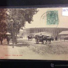 Postales: VALENCIA - PLAZA DE TOROS - P.Z. 10674 - (38900). Lote 52868880