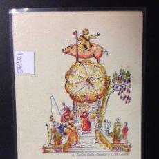 Postales: VALENCIA 1936 - VISITAR LAS FALLES - LES FALLES - ED· FOC VALENCIA - VER REVERSO - (38901). Lote 52868914