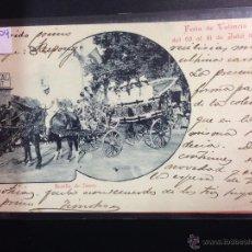 Postales: VALENCIA - BATALLA DE FLORES - FOT· V.BARBERA MASIP - REVERSO SIN DIVIDIR - (38904). Lote 52869007