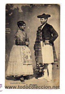 ALICANTE. COLECCIÓN TIPOS. Nº 2. FOT LACOSTE. MADRID. REVERSO DIVIDIDO. SIN CIRCULAR. (Postales - España - Comunidad Valenciana Antigua (hasta 1939))
