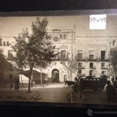 Postales: ELCHE - PLAZA MAYOR - FOTOGRAFICA - (39049). Lote 52978595
