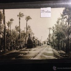 Postales: ELCHE - ESTACION FERROCARRIL - FOTOGRAFICA - (39050). Lote 52978616