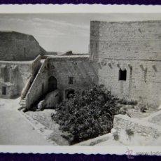 Postales: POSTAL DE PEÑISCOLA (CASTELLON). Nº5 HABITACIONES DEL PAPA LUNA. AÑOS 50.. Lote 53046932