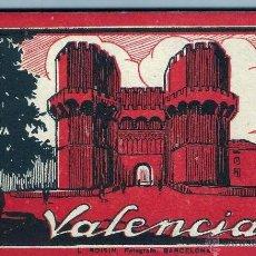 Postales: BLOC 20 POSTALES ANTIGUAS DE VALENCIA. Lote 53183417