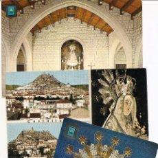 Postales: TRES POSTALES DE CASTALLA (ALICANTE) - SIN CIRCULAR.. Lote 53383699
