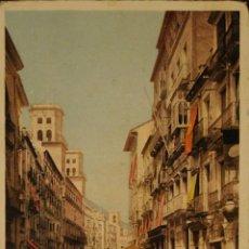 Postales: ALICANTE - CALLE PRINCESA - ILUSTRADA - CIRCULADA Y DORSO SIN DIVIDIR. Lote 53439050