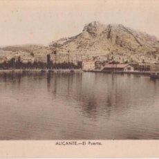 Postales: P- 3974. POSTAL DE ALICANTE. EL PUERTO. Nº 9 ARRIBAS.. Lote 53654651