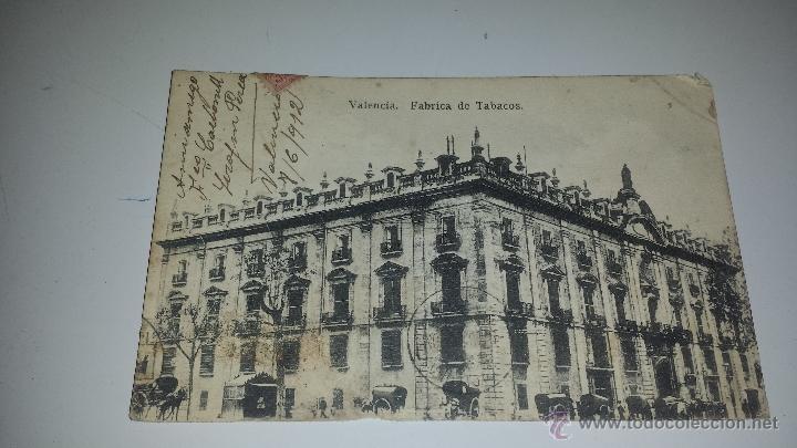 FABRICA DE TABACOS 1912 (Postales - España - Comunidad Valenciana Antigua (hasta 1939))