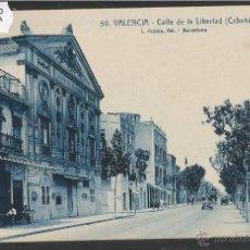 Postales: VALENCIA - 50 - CALLE DE LA LIBERTAD - ROISIN - (40248). Lote 53894141