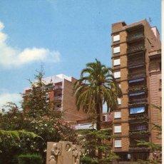 Cartoline: MAGNIFICA POSTAL LA PLAZA DE LAS AULAS DE CASTELLON. Lote 54014938