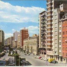 Cartoline: MAGNIFICA POSTAL PLAZA REY DON JAIME E INSTITUTO FRANCISCO RIBALTA CASTELLON. Lote 54015474